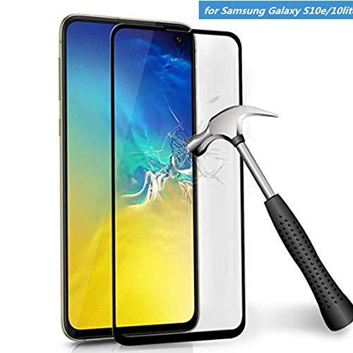 3D Glas für Samsung Galaxy S10e Displayschutzfolie Hartglas 2er-Pack für Galaxy S10e / Samsung Galaxy S10 Lite Gebogene Abdeckung Schutzfolie (unterstützt Fingerabdruck-Entriegelung) - Samsung 2er-pack