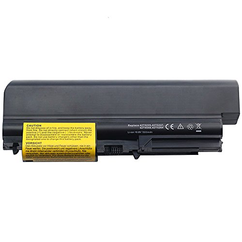 10.8V 7800mah Notebook Laptop Akku für IBM Lenovo ThinkPad T61p T-61 R400 R-400 T400 T-400 2764 7417 T61 1959 6377 6378 6379 6480 6481 7658 7659 7660 7661 7662 7663 7664 7665 ASM 42T5265 42T4677 42T5225 42T5227 43R2499 42T4530 42T4548 40Y6795 Battery T7700-serie