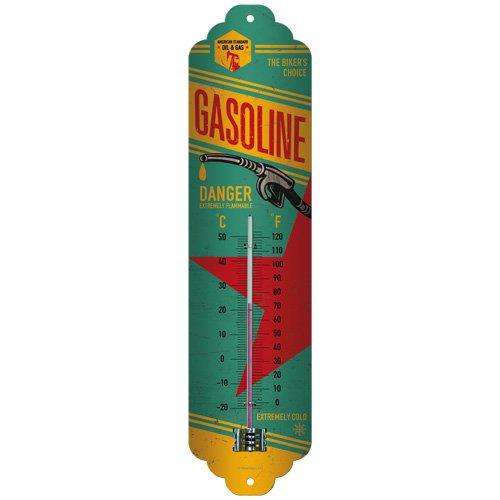 Nostalgic-Art 80148 Best Garage - Gasoline, Thermometer (Wand-thermometer Garage,)