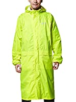 Icegrey Adult Lightweight PVC Long Size Hooded Raincoat Yellow 2XL