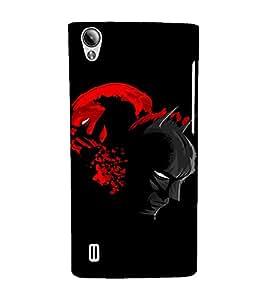 EPICCASE Bloody Spat Mobile Back Case Cover For Vivo Y15 (Designer Case)