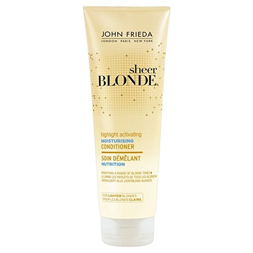 John Frieda Sheer Blonde Hydratant Revitalisant pour Briquet 250ml Blondes