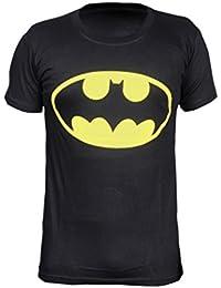 Krystle Boy's Cotton Batman Half Sleeve Round Neck