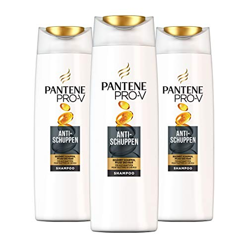 Pantene Pro-V Anti-Schuppen Shampoo, für Alle Haartypen, 3er Pack (3 x 500 ml)