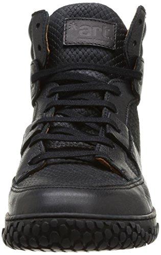 Art Edmonton 376, Boots homme Noir (Black)