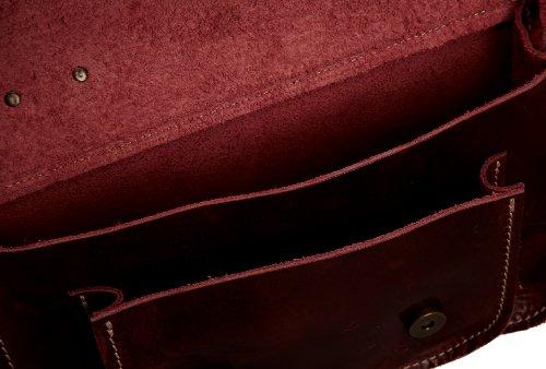 Fly London - Annie, Borsa A Tracolla da donna Rosso (Rot (Red 004 004))