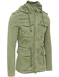 best website 9f3ff 1b190 Amazon.it: trench uomo - Verde / Uomo: Abbigliamento
