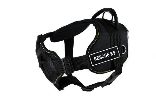 dean-tyler-dt-fun-rescue-k9-dog-harness-with-padded-chest-piece-fits-girth-size-32-inch-to-42-inch-l