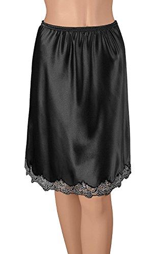 Gemsli Damen Unterrock 28 Inches Black