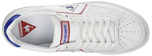 Le Coq Sportif Icons Lea Sport Gum, Baskets Basses Mixte Adulte Blanc (Optical White/Classic)