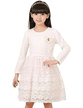 ipretty Herbst Winter mädchen kleid Longsleeven Prinzessin Kleid mädchen Kleid Partykleider