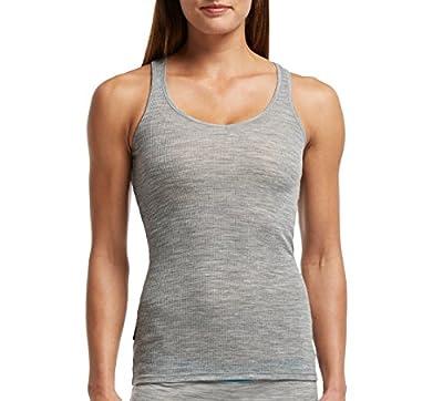 Icebreaker Damen Shirt Unterhemd Tank Siren Racerback von Icebreaker - Outdoor Shop