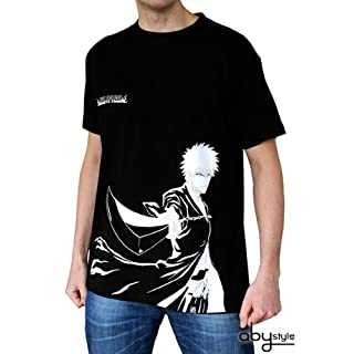 ABYstyle ABYstyleABYTEX225-L Abysse Bleach Ichigo N and B Short Sleeves Man Basic T-Shirt (Large)