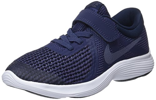 NIKE Kinder Revolution 4 (PSV) Laufschuhe, Blau (Neutral Indigo/Light Carbon-Obsidian 501), 29.5 EU