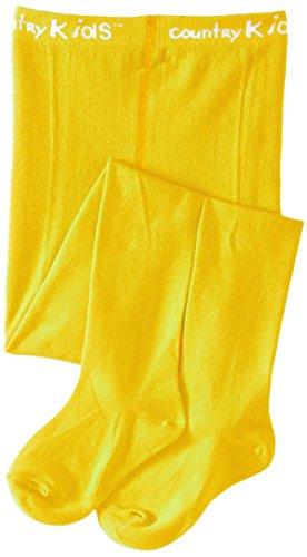Country Kids Mädchen Strumpfhose, Luxury Cotton Tight, GR. 98 (Herstellergröße: 3-5 Years), Gelb (Marigold) (Designer-strumpfhosen)