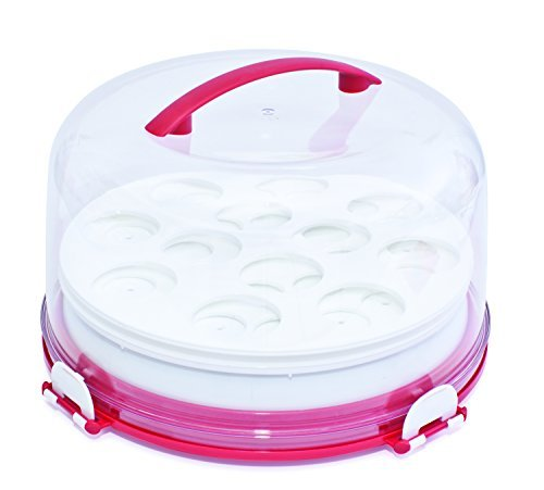 mrs-fields-dessert-diva-all-in-one-dessert-carrier-and-server-red-by-mrs-fields