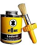 William Hunter Effax Leder-Öl, Dose mit Pinsel 475ml Lederpflege