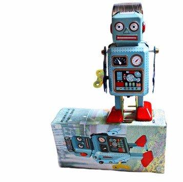 Juguete de Hojalata réplica Antiguo Colección Robot Clásico