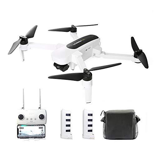 Goolsky H117S Zino RC Drone GPS 5G WiFi FPV 4K UHD Cámara de 3 Ejes Gimbal Quadcopter con Bolsa de Almacenamiento Cargador para Auto de Repuesto Hélice (2 * batería)