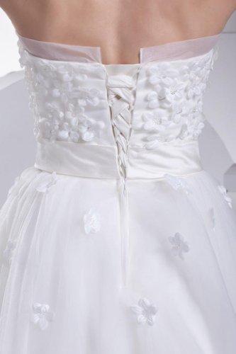 Lemandy - Robe - Trapèze - Femme blanc blanc Blanc