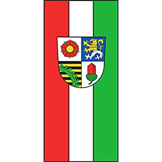 DIPLOMAT-FLAGS German district Altenburger Land Flag | portrait flag | 0.06m² | 0.65sqft | 20x30cm | 8x12in Car Flag Poles