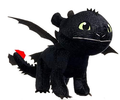 Dragons - Peluche drago Sdentato Toothless 40x12x32 cm