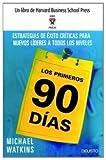 Image de Los Primeros 90 Dias (Spanish Edition) by Michael Watkins (2006-05-02)