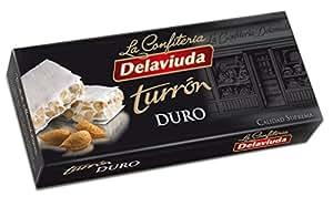 Delaviuda - Turrón Duro, Torrone di mandrole duro - Qualità suprema - 200gr (Senza Gluten)