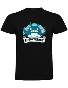 The Fan Tee Camiseta de Mujer Ghibli Mi Vecino Totoro Mononke Porco