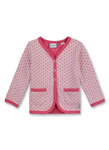 Sanetta Baby-Mädchen 114017 Sweatshirt, Rosa (Vintage Rose 3897), 74 -