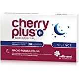 Cherry PLUS Silence - Das Original: Nahrungsergänzungsmittel mit Montmorency Sauerkirschextrakt, Ashwagandha & 5-HTP (L-Tryptophan Nachstufe) aus Griffonia Simplicifolia-Extrakt / 60 Kapseln