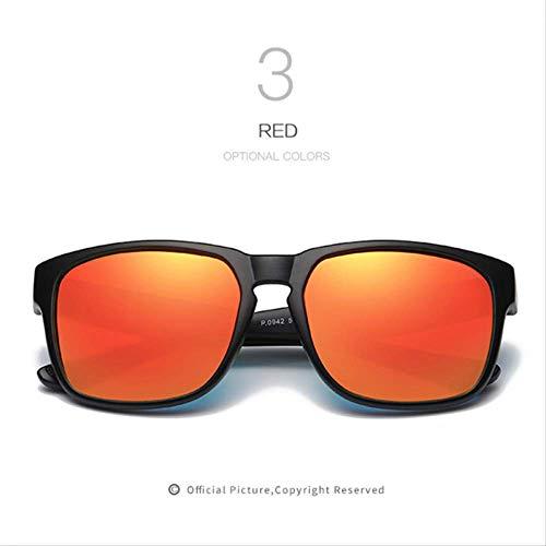 MJDL Männer Polarisierte Sonnenbrille Hd Linsen Frauen Männer Markendesigner Sonnenbrille Design Hohe Qualität Retro Uv400 Brillen C3