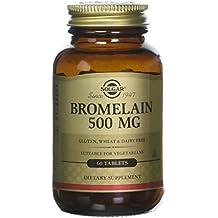 Bromelina, 500 mg, 60 comprimidos Solgar -