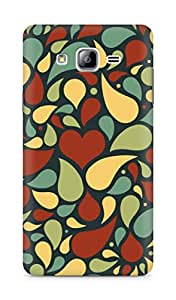 Amez designer printed 3d premium high quality back case cover for Samsung Galaxy ON7 (water droplets)