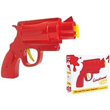 Lustige Ketchup-Senf-Pistole