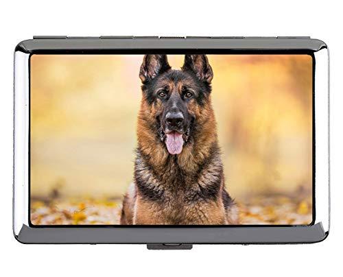 Portasigarette Full Pack per Hard Box, Portacarte per Cane in acciaio inox Pet Pet tedesco (King Size)