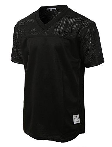le3no-mens-athletic-short-sleeve-mesh-baseball-jersey