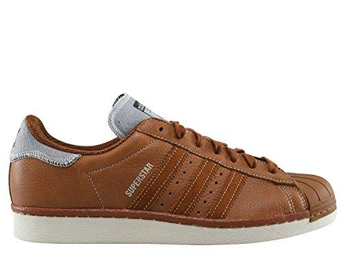 Adidas Superstar 80's Varsity Jacket Herren Sneaker Hellbraun