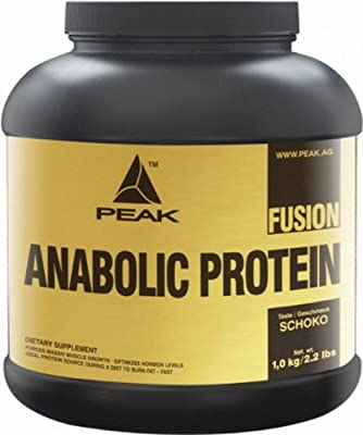 Peak Anabolic Protein Fusion 2,26kg (Vanilla) + Active Supps Shaker from Peak