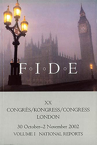 National Reports from the XXth Fide Congress: v. 1