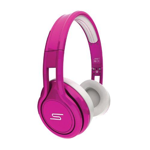 Street-kopfhörer Sms (SMS Audio SMS-ONWD-PNK-5L 50 Wired Street On-Ear-Kopfhörer magenta)