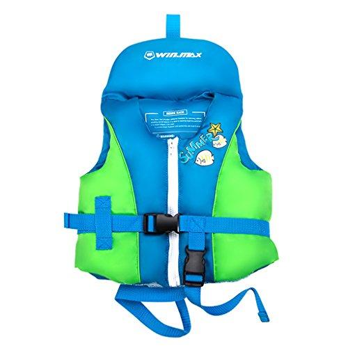 Ragazzi Ragazze Costume da bagno - Bambini Giacca Galleggiante Giacca da nuoto Aiuti al Nuoto Gonfiabile Gilet di Galleggiamento Allenamento di Nuoto Aids per Imparare a Nuotare Taglia S M L XL