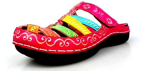 Laura Vita JD2183-54 Billy 54 Schuhe Damen Clogs Pantoletten Pink