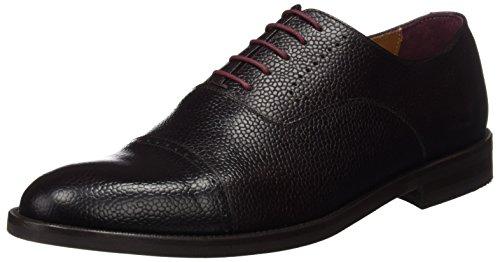 Scalpers Calabria Shoes, Zapatos para Hombre, Dark Brown, 43 EU