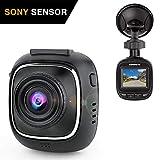 SuperEye Dashcam Mini Telecamera per Auto Dash Cam per Auto Camera Car 1080P con Visione Notturna, Sony IMX323 Sensor,170 Gradi, G-Sensor, Rilevazione di Movimento, Registrazione in Loop, WDR