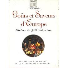 Goûts et saveurs d'Europe