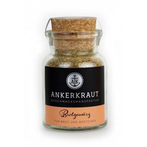 Ankerkraut Brotgewürz Hamburg, 85g im Korkenglas, perfekte Gewürzmischung zum selbermachen von Brot und Brötchen