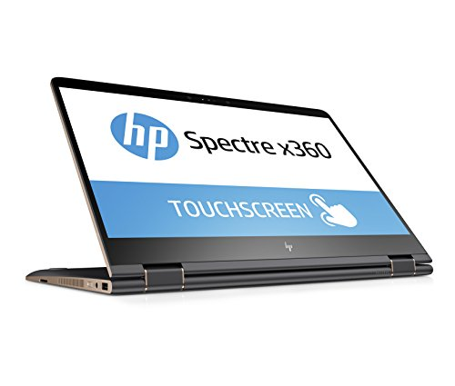 HP Spectre x360 15-bl103ng 39,6 cm (15,6 Zoll 4K IPS Touchdisplay) Convertible Laptop (Intel Core i7-8550U, 16GB RAM, 256GB SSD, Nvidia GeForce MX150 2GB, Windows 10 Home) grau/kupfer