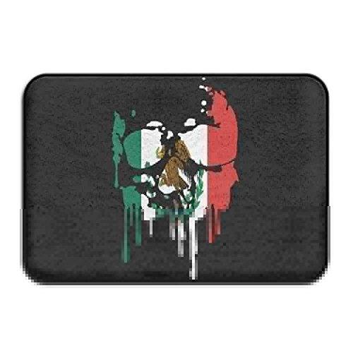ruichangshichengjie Mexico US Flag Non-Slip Indoor/Outdoor Door Mat Rug for Health and Wellness Offices Entrance Rug 23.6