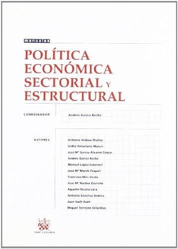 Política Económica Sectorial y Estructural